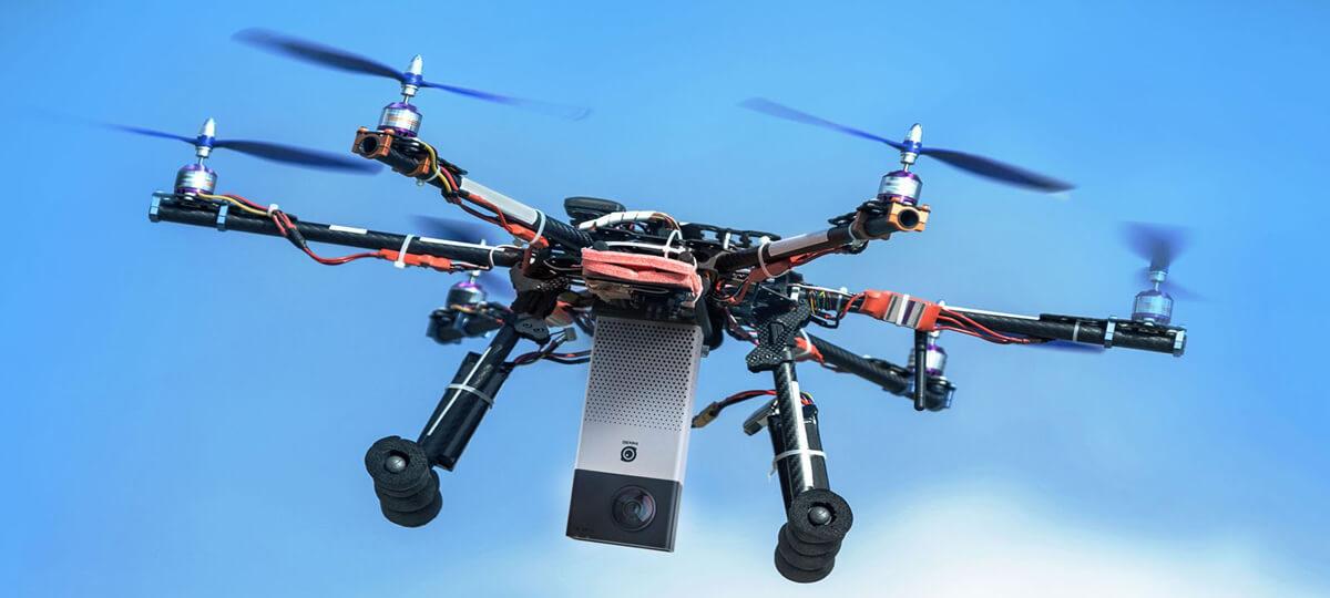 Drone Mounted 360 Camera