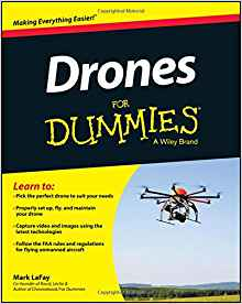 Drones For Dummies Book