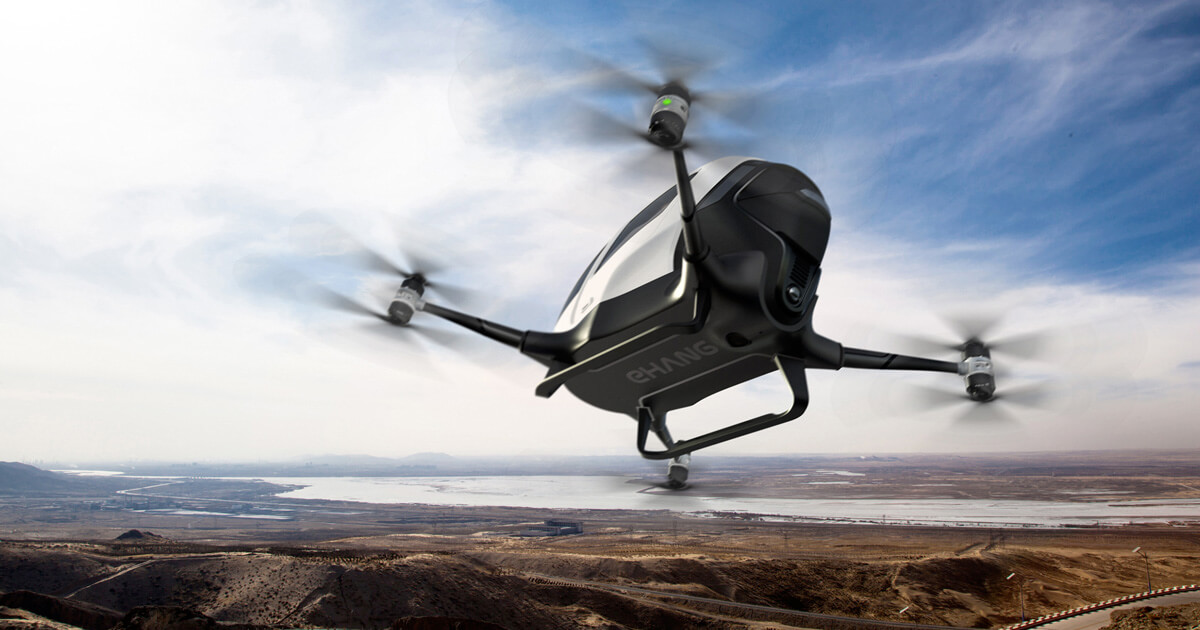 Life size drone for transport
