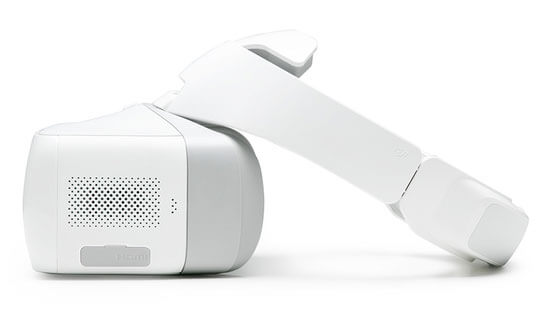 DJI Goggles Side View