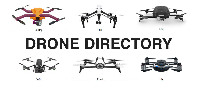 Drone Directory | Find Drones By Type and Manufacturer