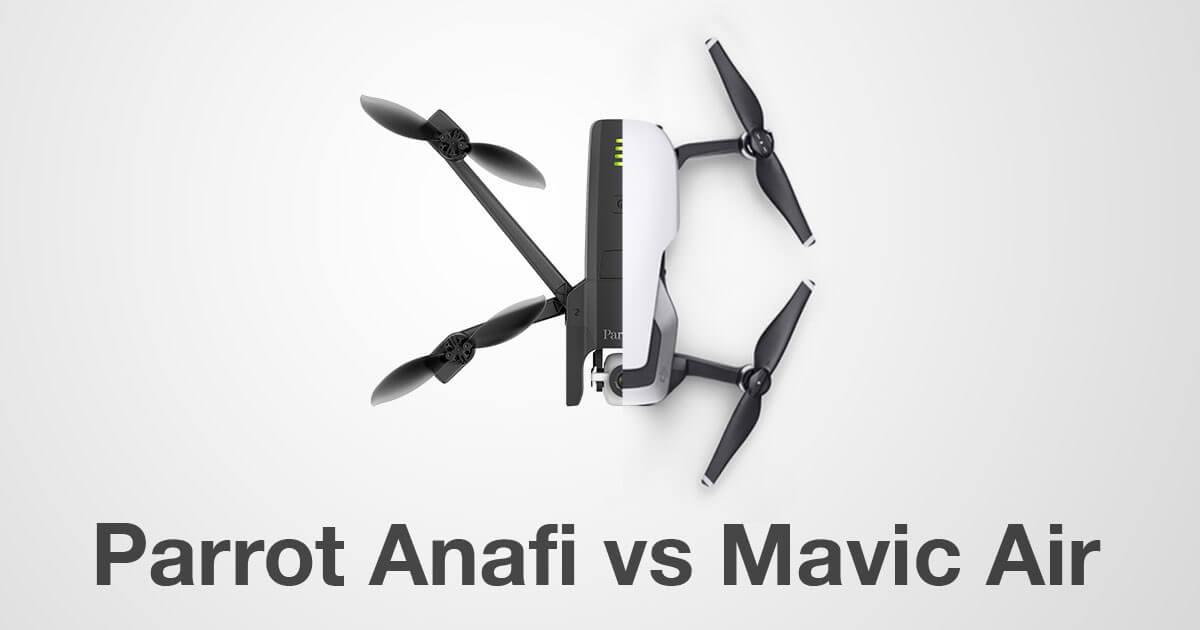 Parrot Anafi Vs Mavic Air Drone Spec Comparison