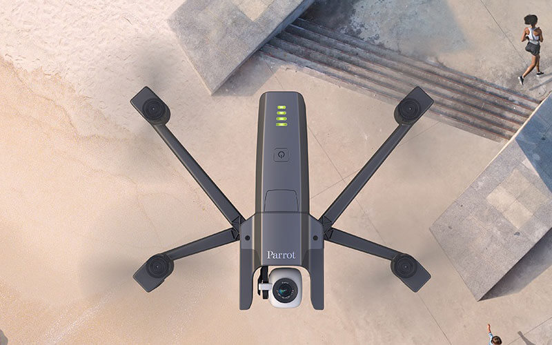 Best Travel Drones - Parrot Anafi