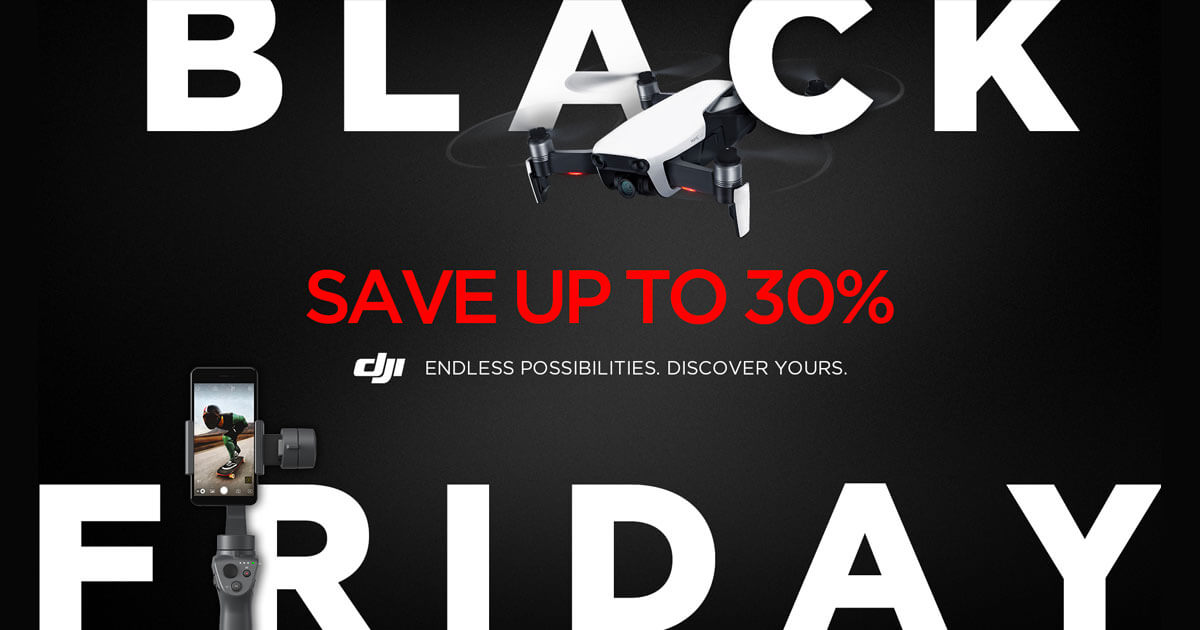 DJI Black Friday Drone Deals 2018