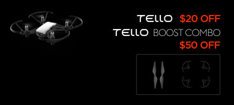 Tello and Tello Boost Black Friday Drone Deal