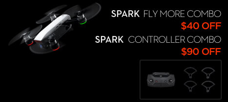 DJI Spark and Spark Bundle Black Friday Drone Deal