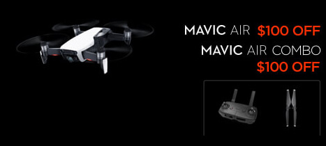 DJI Mavic Air Black Friday Drone Deal
