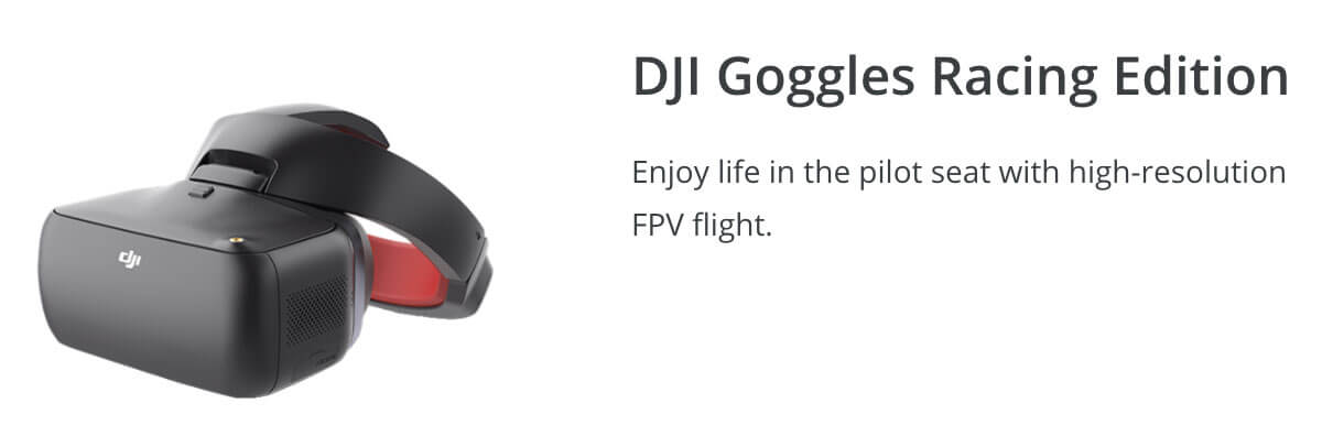 DJI Racing Goggles - Winter Drone Deal