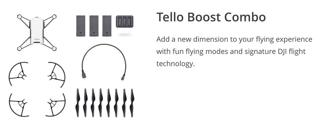 Tello and Tello Boost Winter Drone Deal
